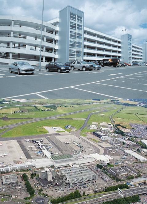 Glasgow International Airport Multistory Carpark
